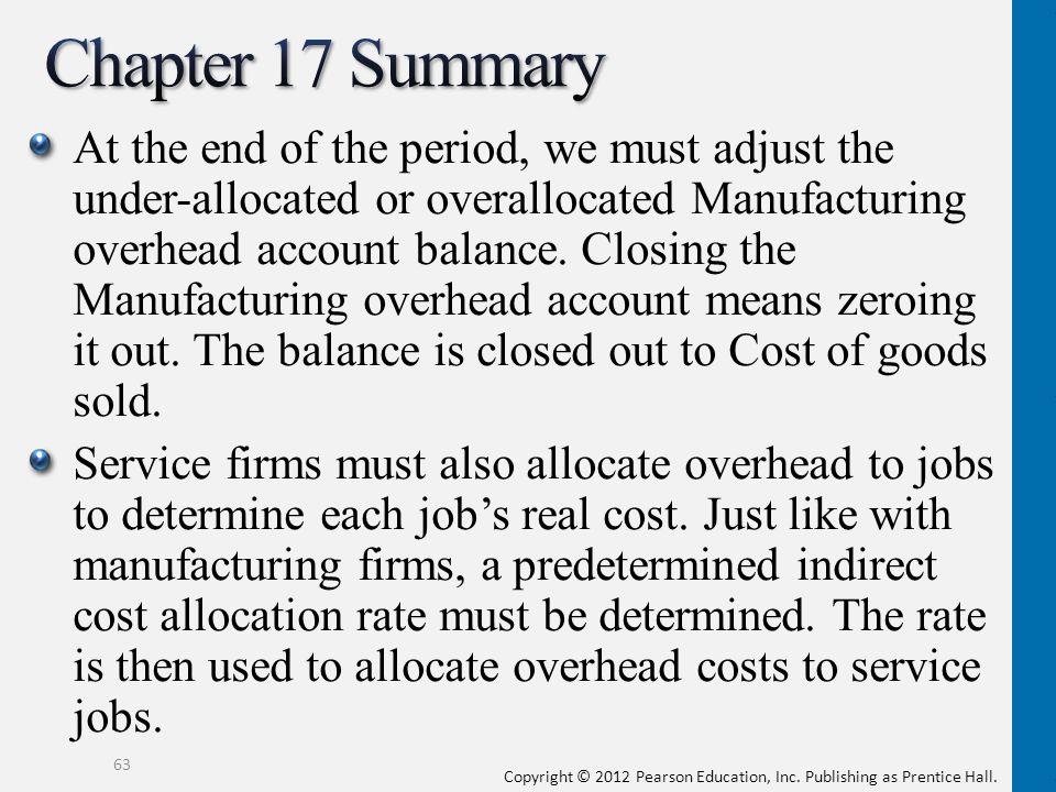 Chapter 17 Summary