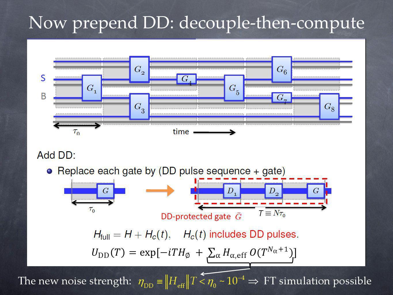 Now prepend DD: decouple-then-compute