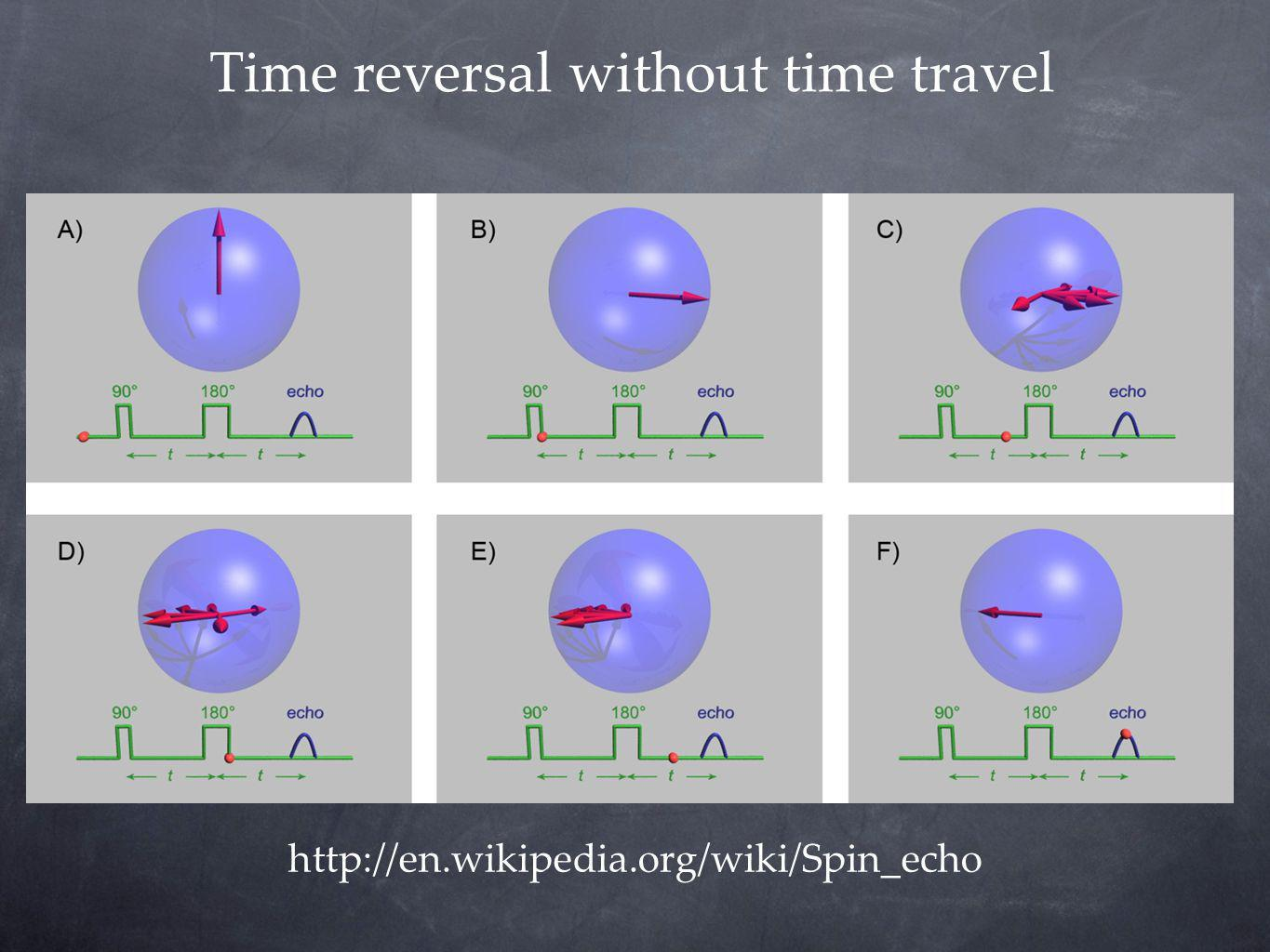 Time reversal without time travel