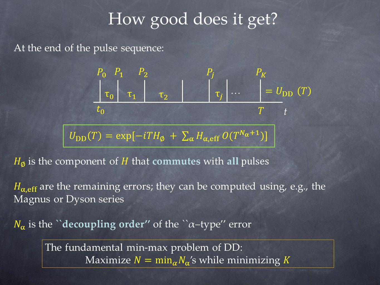 Maximize 𝑁= min 𝛼 𝑁 α 's while minimizing 𝐾