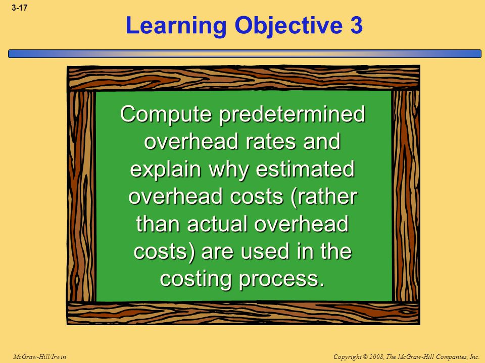 3-17 Learning Objective 3.