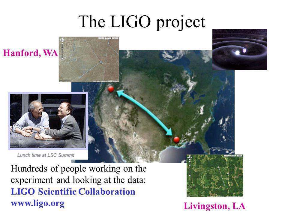 The LIGO project Hanford, WA