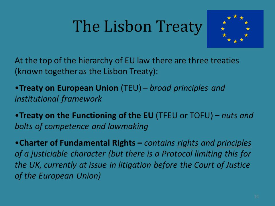 europe the lisbon treaty essay The lisbon treaty became law on 1 december 2009, eight years after european leaders launched a process to make the eu more democratic, more transparent and more efficient.