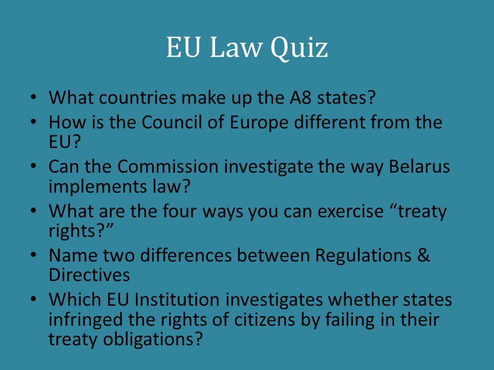 law quiz