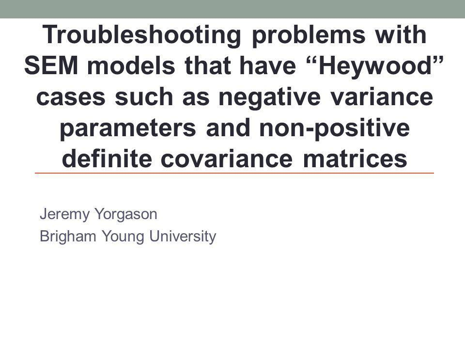 Jeremy Yorgason Brigham Young University