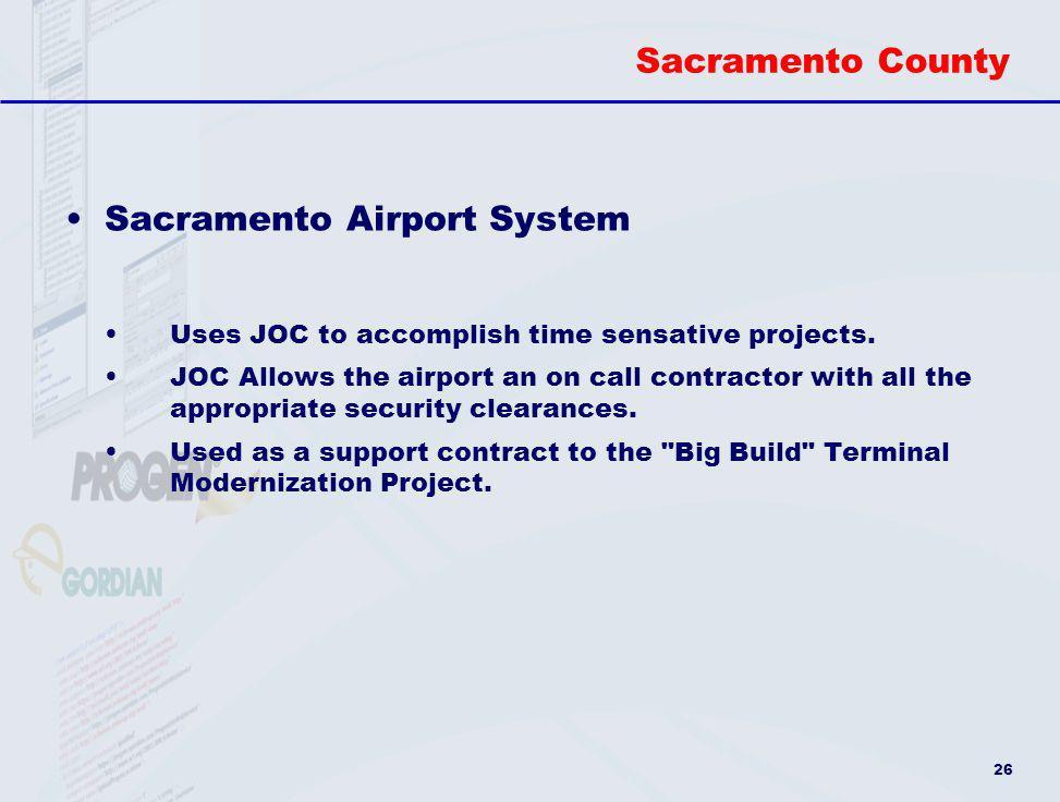 Sacramento Airport System