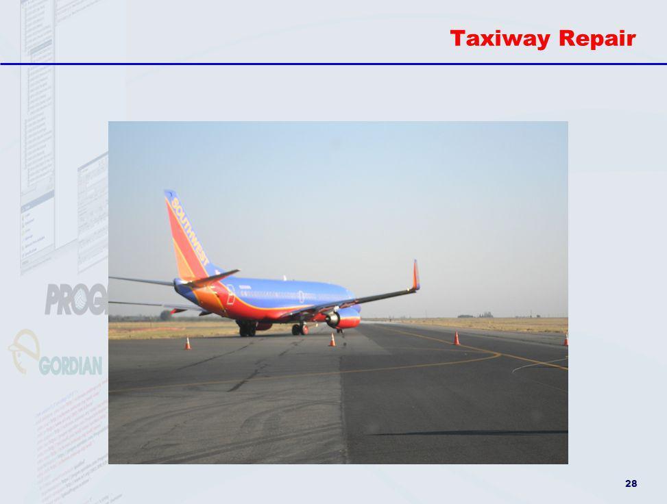 Taxiway Repair