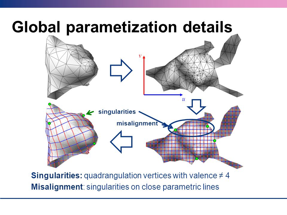 Global parametization details