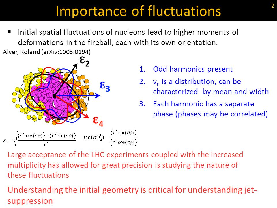 Importance of fluctuations