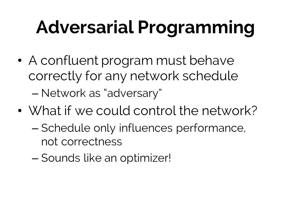 Adversarial Programming