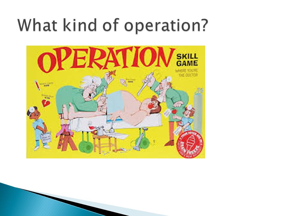 What kind of operation