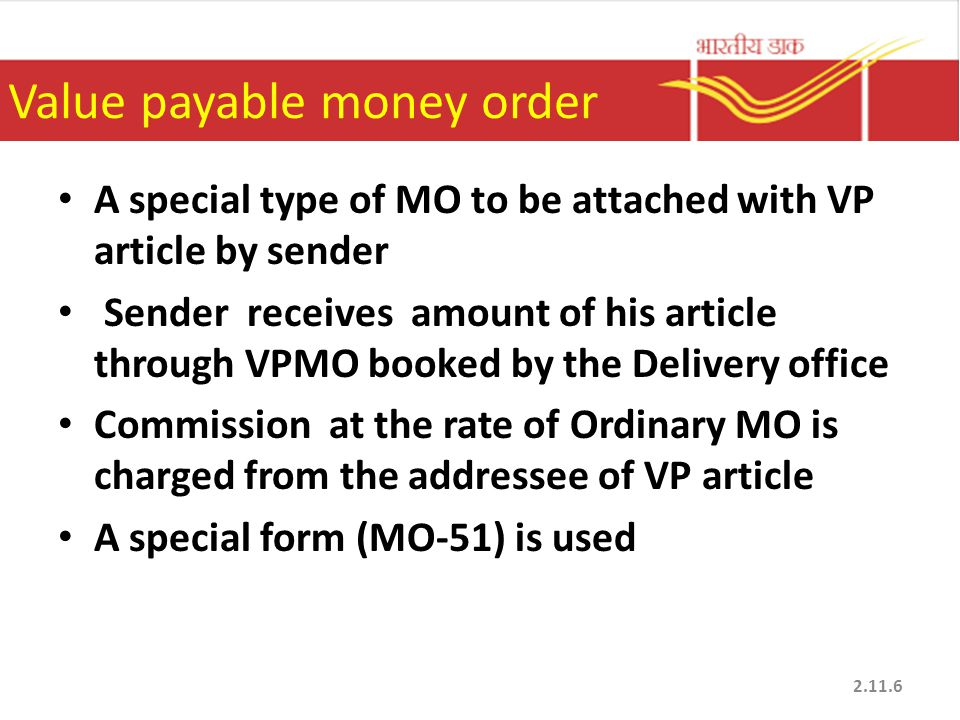 Money Order. - Ppt Download