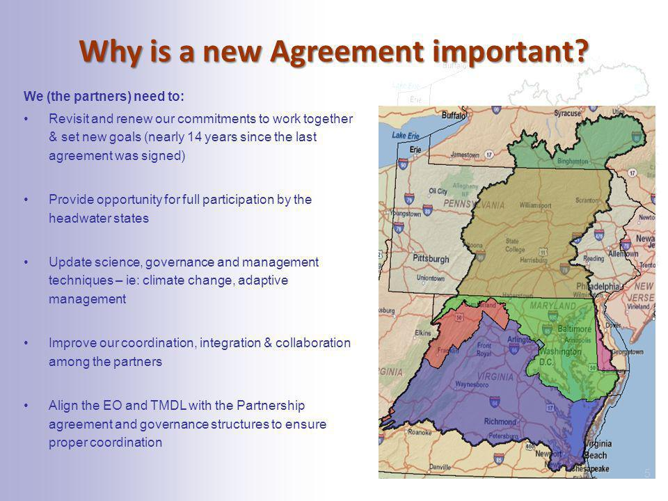 Why is a new Agreement important