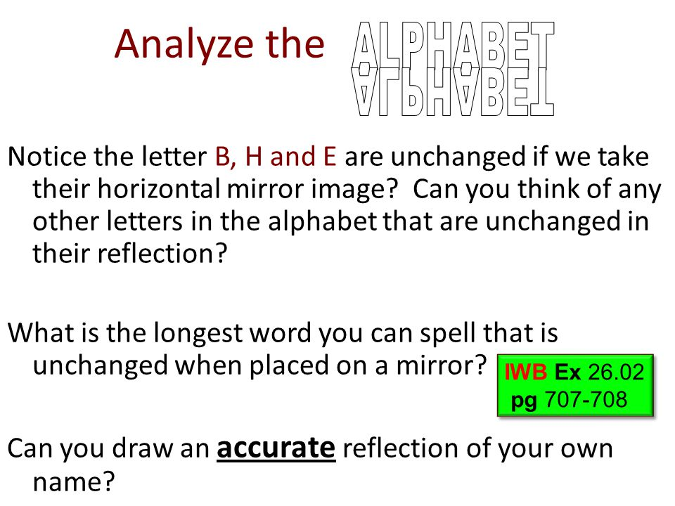 Analyze the ALPHABET ALPHABET