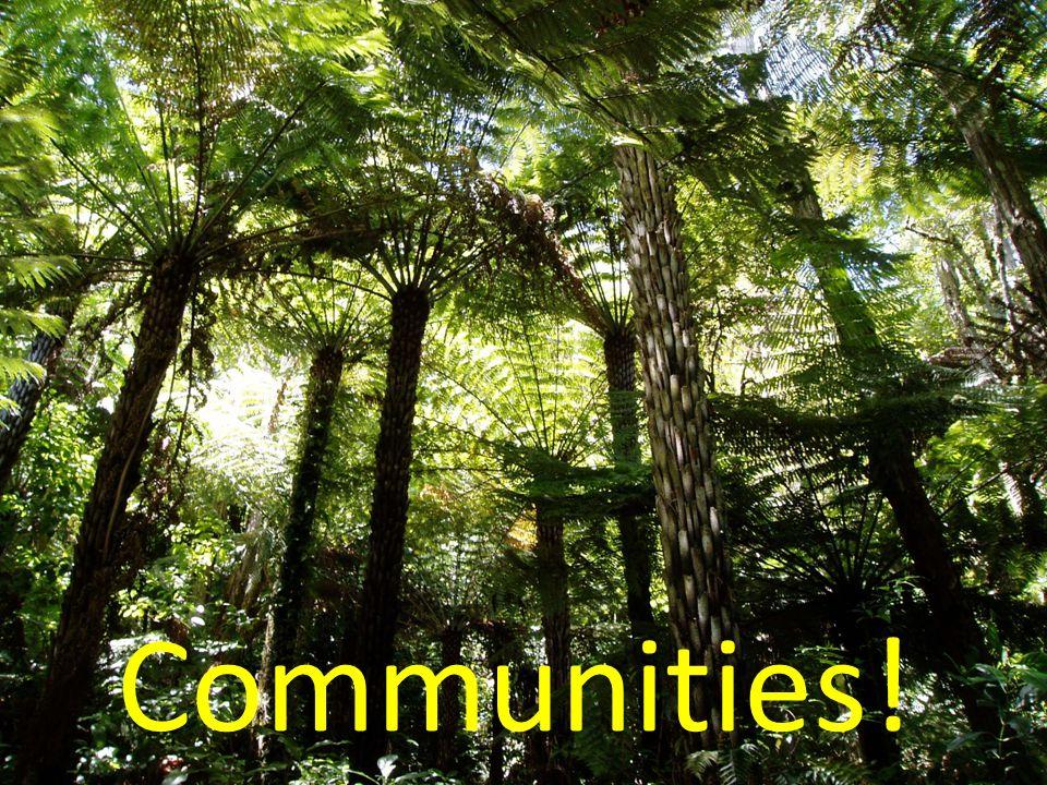 Communities!