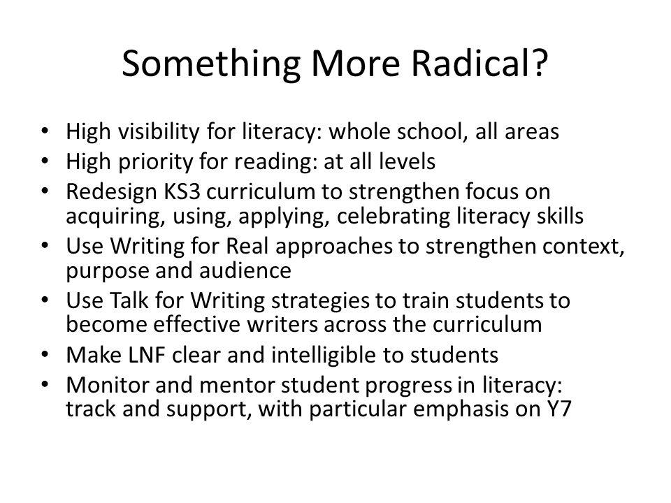 Something More Radical