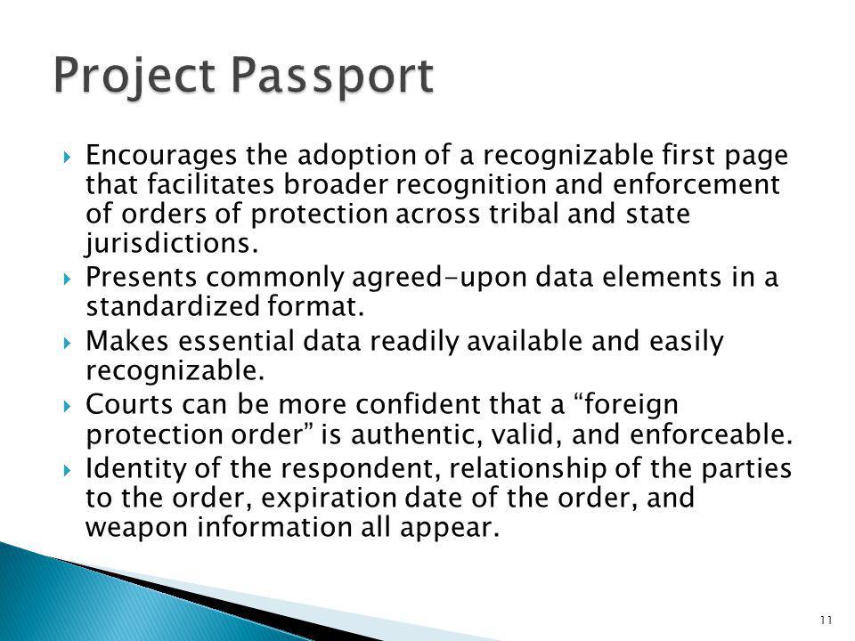 Project Passport