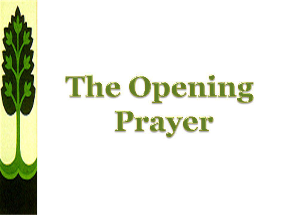 The Opening Prayer