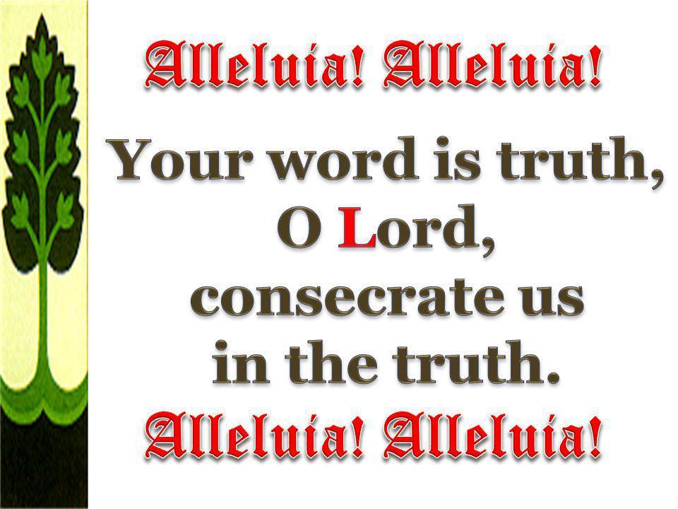 Alleluia! Alleluia! Alleluia! Alleluia!