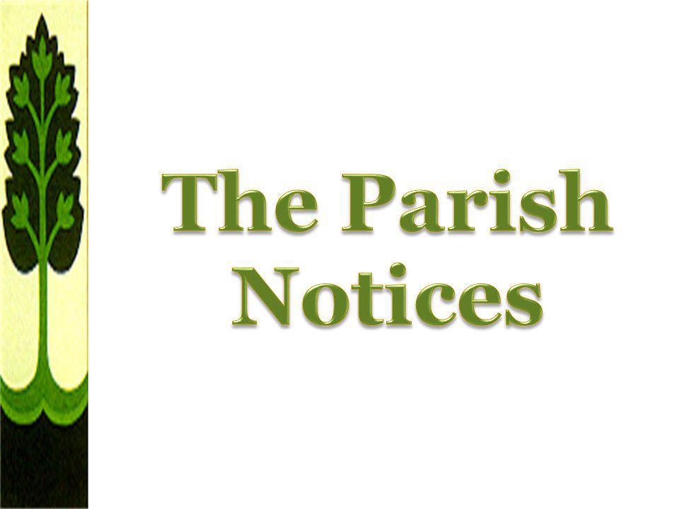 The Parish Notices