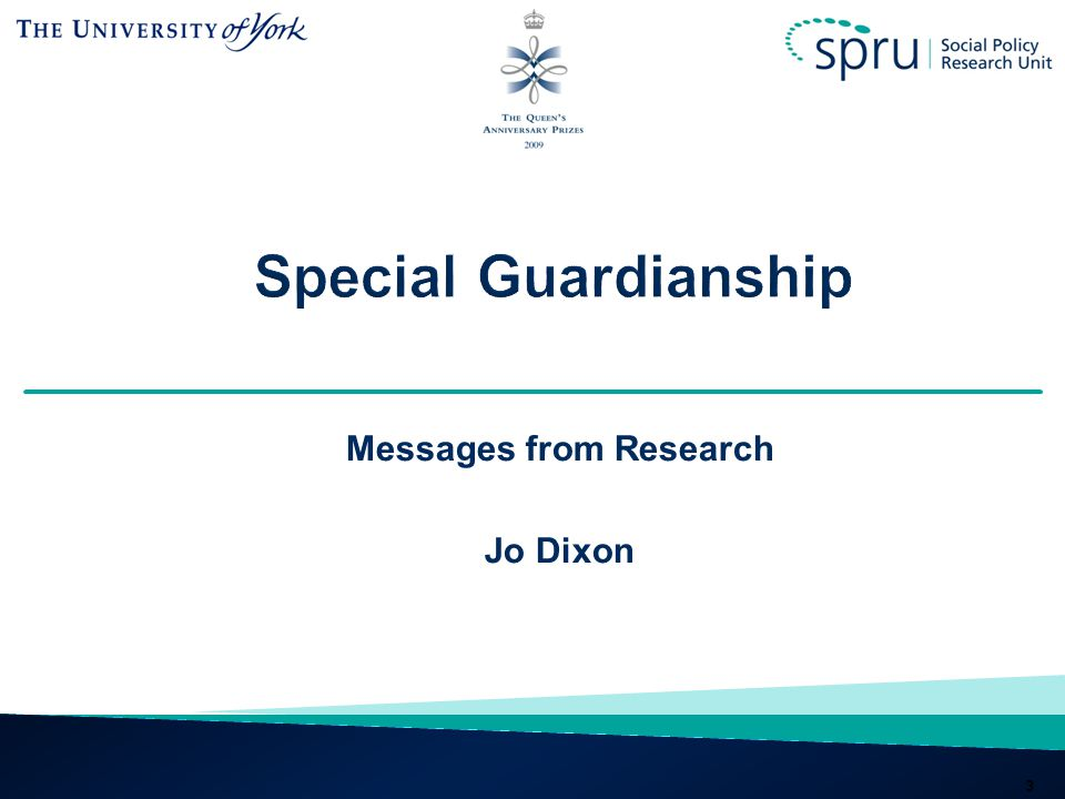 Messages from Research Jo Dixon