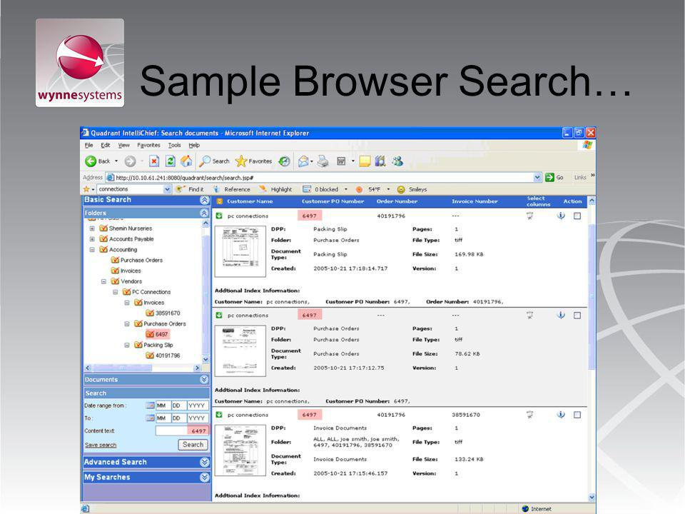 Sample Browser Search…