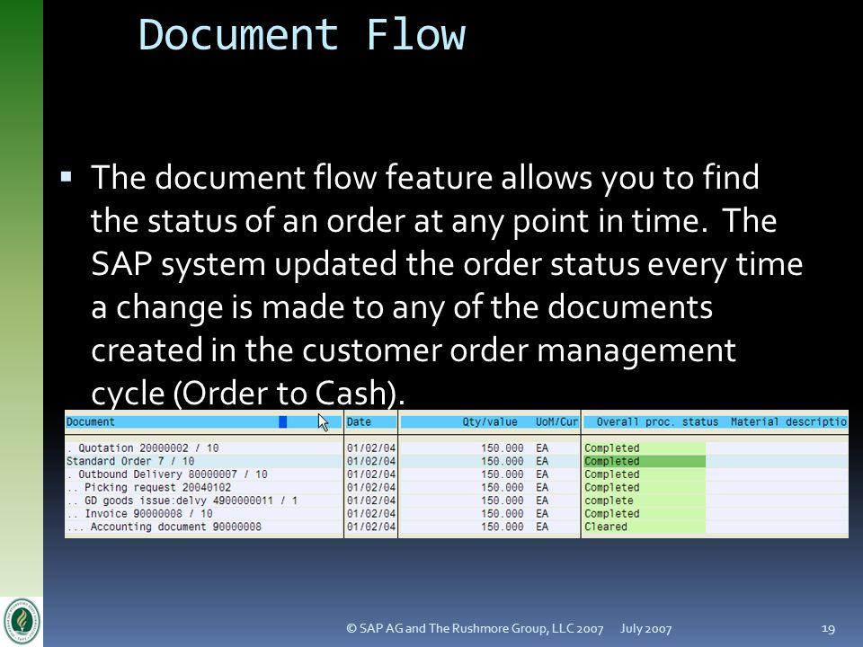 Version 4.1 Document Flow. July 2007.