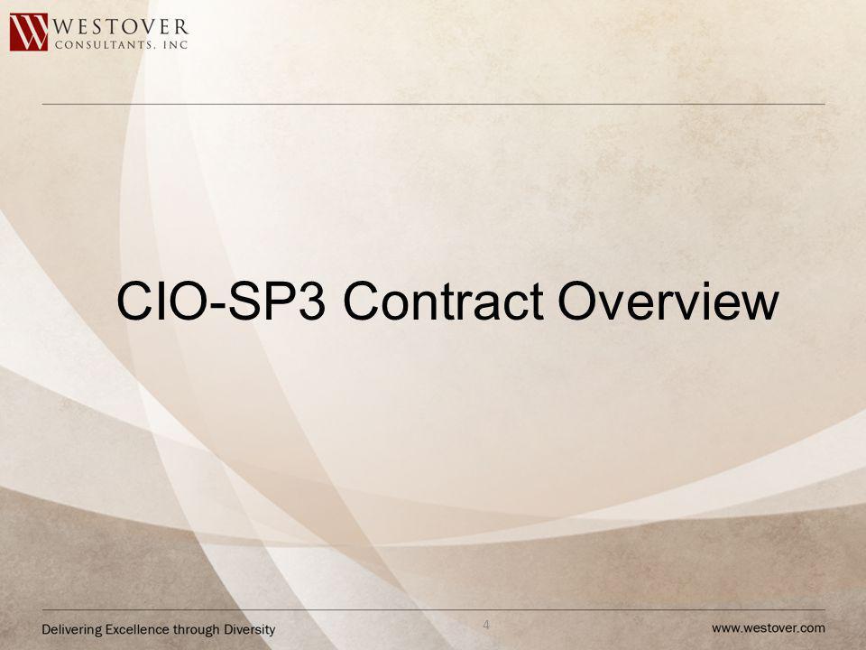 CIO-SP3 Contract Overview