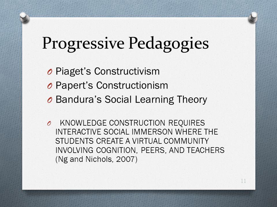 Progressive Pedagogies
