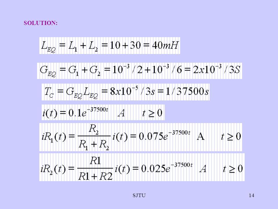 SOLUTION: SJTU