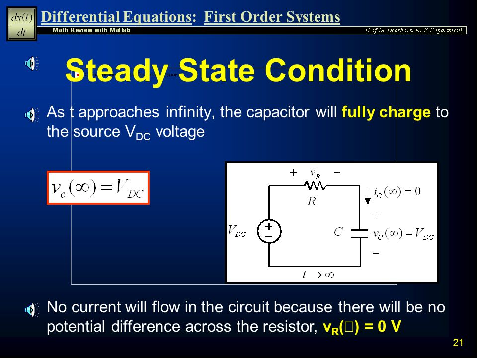 Steady State Condition
