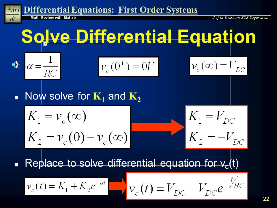 Solve Differential Equation
