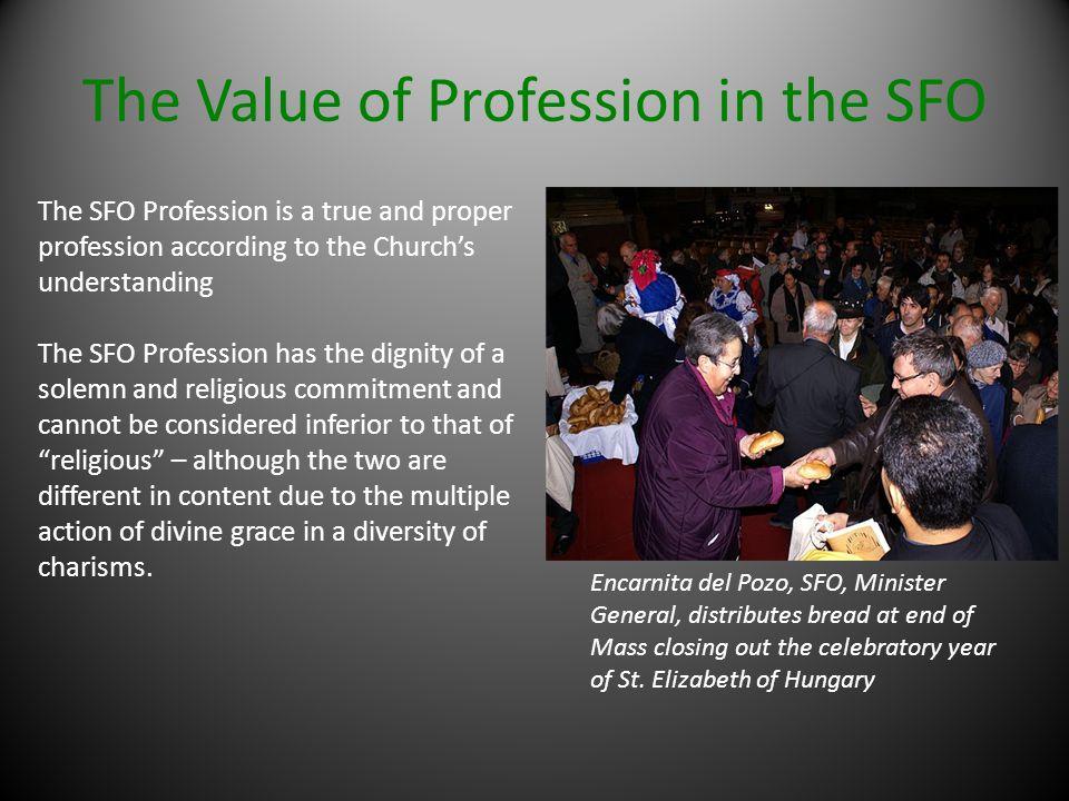 The Value of Profession in the SFO