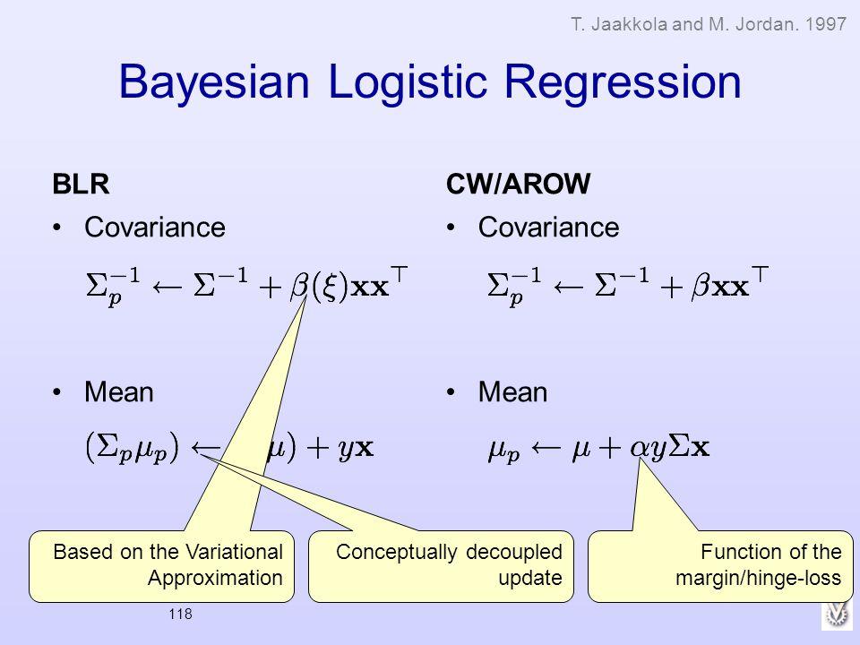 Bayesian Logistic Regression