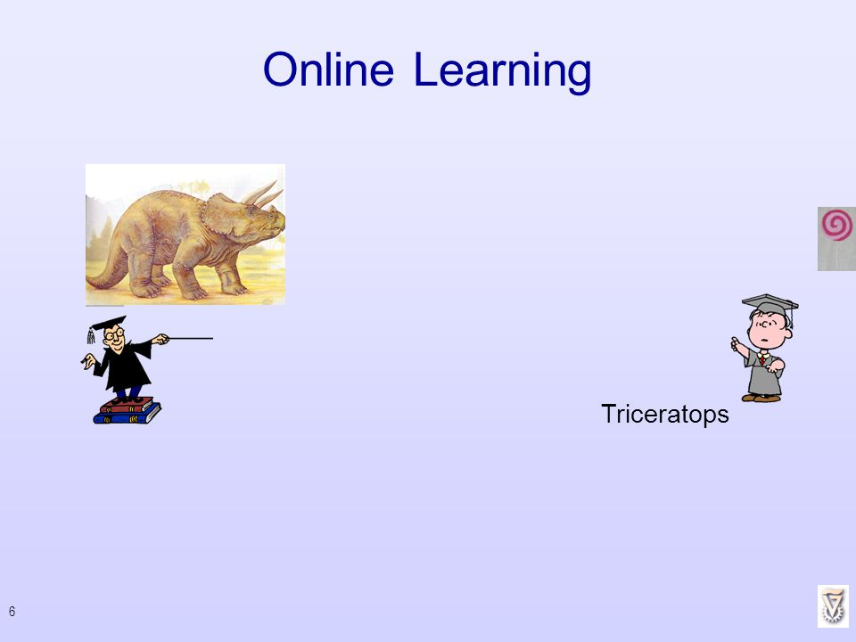 Online Learning Triceratops