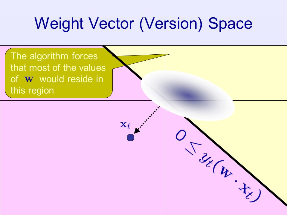 Weight Vector (Version) Space