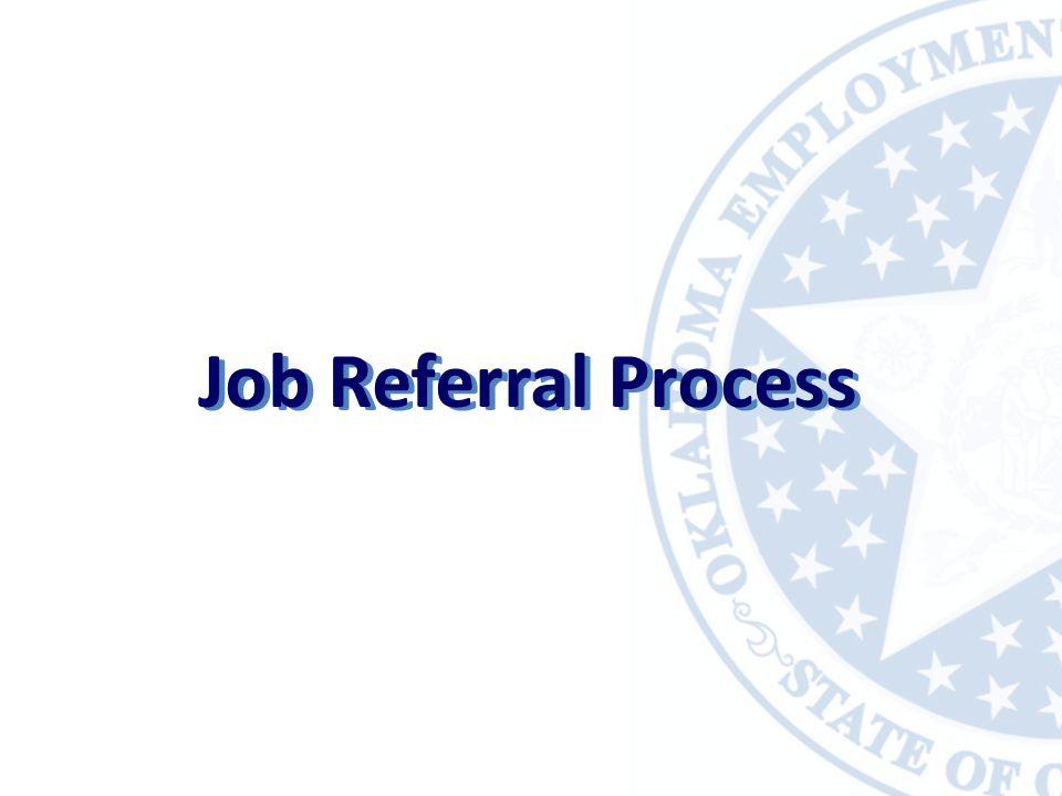 Job Referral Process