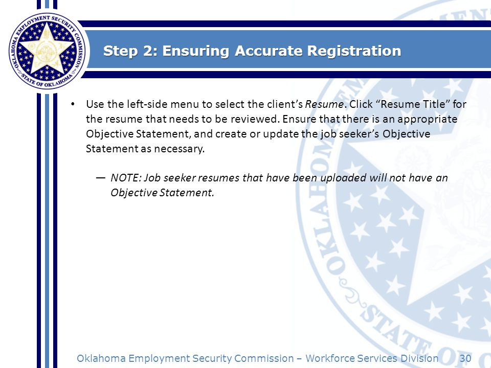 Step 2: Ensuring Accurate Registration