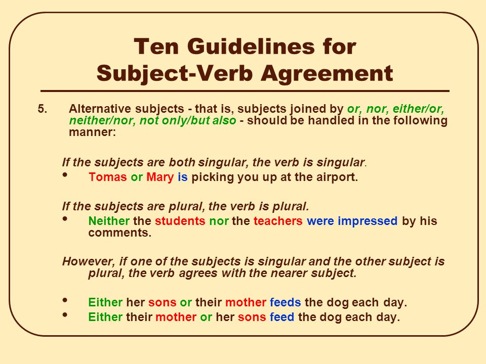 Subject Verb Agreement In Sindhi And English Essay College Paper