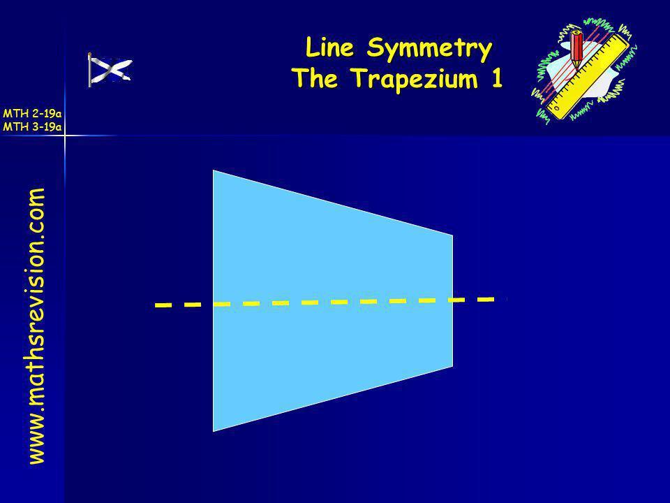 Line Symmetry The Trapezium 1