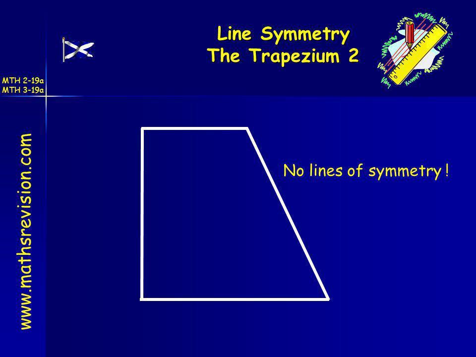 Line Symmetry The Trapezium 2