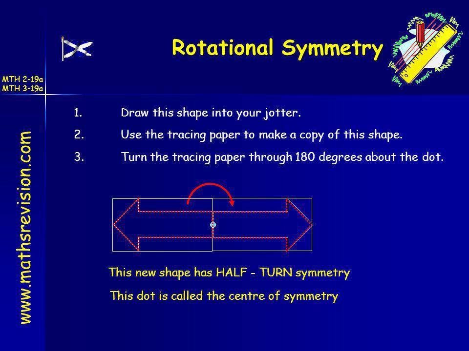 Rotational Symmetry www.mathsrevision.com