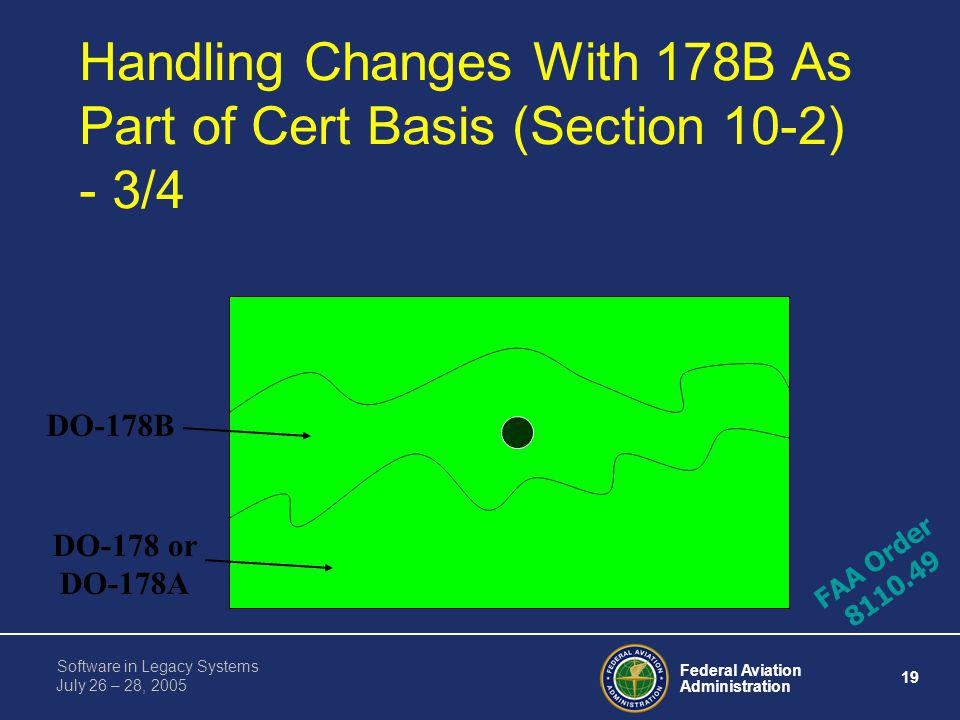Handling Changes With 178B As Part of Cert Basis (Section 10-2) - 3/4
