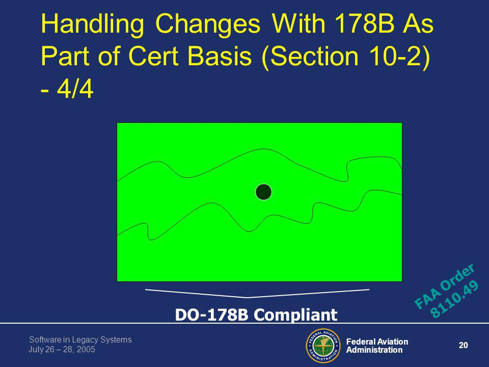 Handling Changes With 178B As Part of Cert Basis (Section 10-2) - 4/4