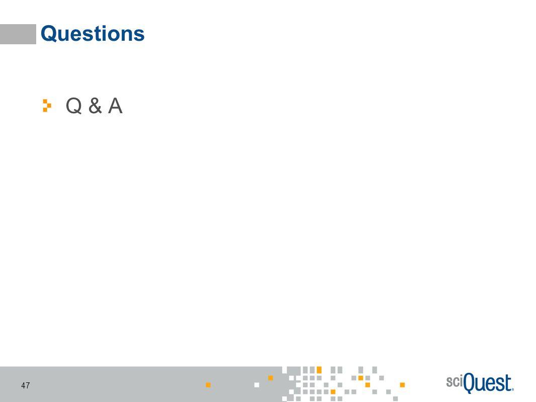 Questions Q & A