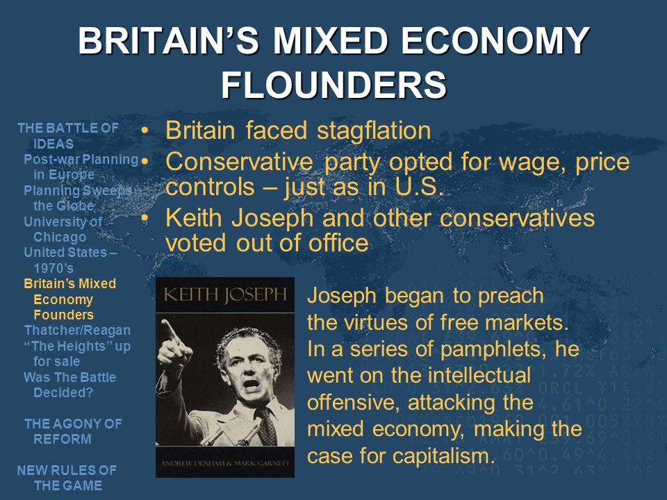 BRITAIN'S MIXED ECONOMY FLOUNDERS