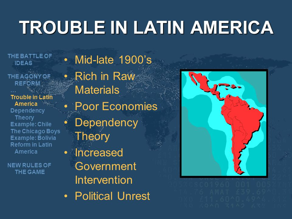 TROUBLE IN LATIN AMERICA