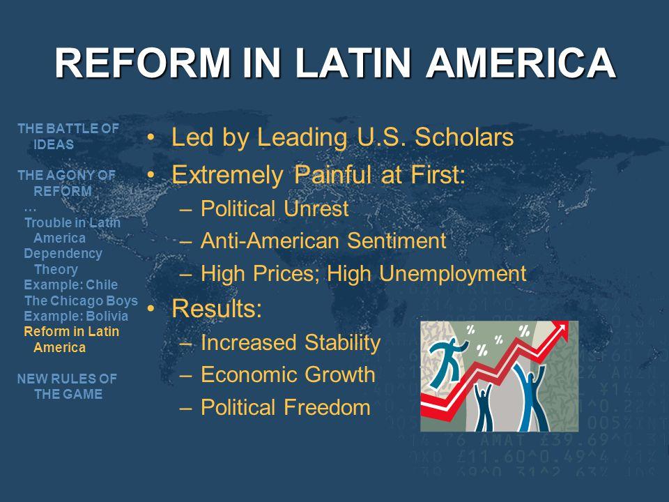 REFORM IN LATIN AMERICA
