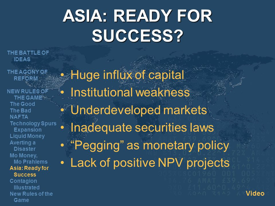 ASIA: READY FOR SUCCESS