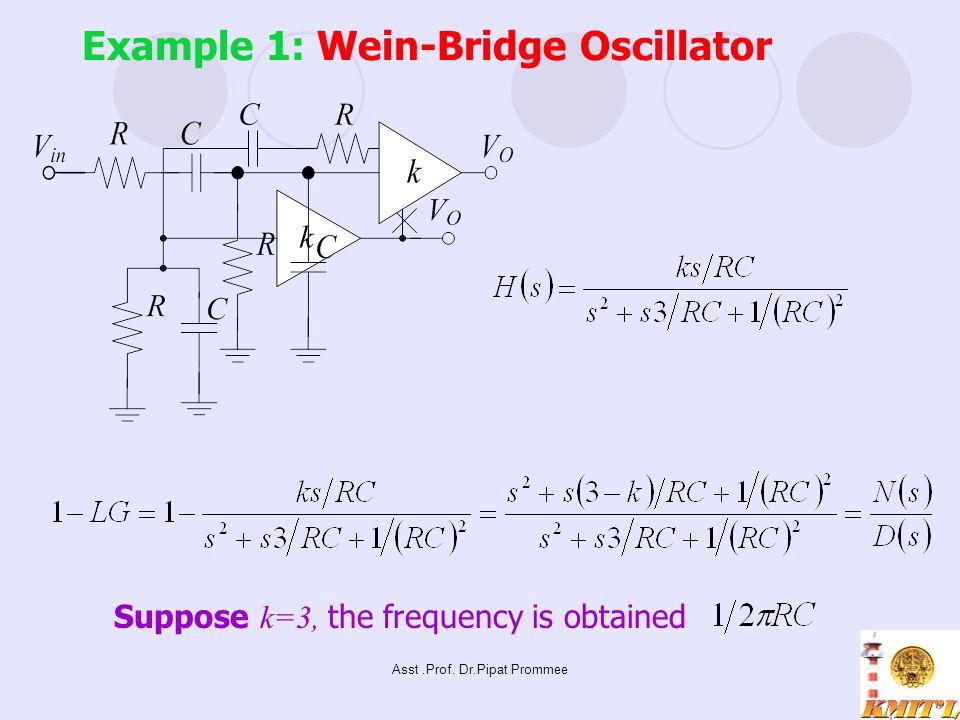 Example 1: Wein-Bridge Oscillator